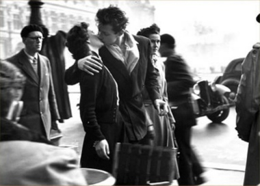 Doisneau - French kiss