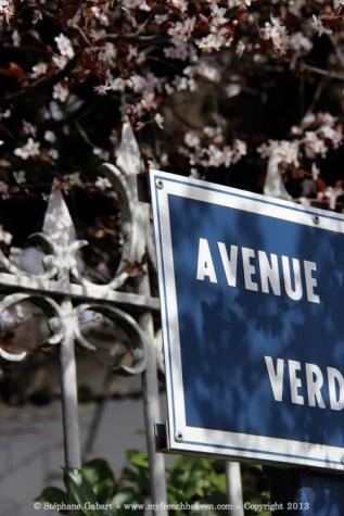 Avenue de Verdun in Libourne