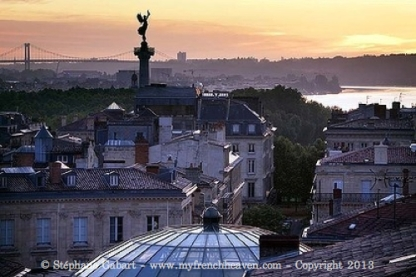 Bordeaux from the roof
