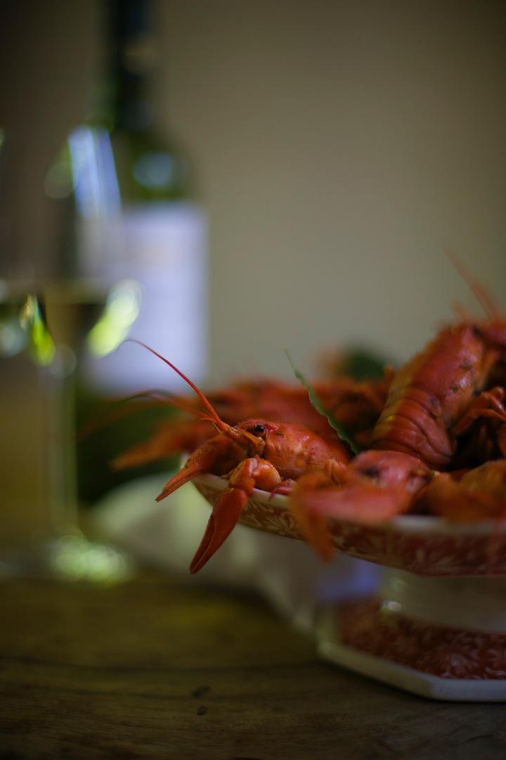 Crayfish boil