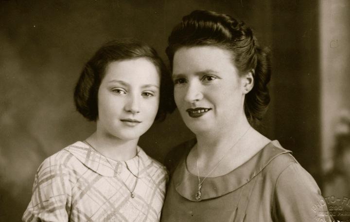 Mom and Mémère