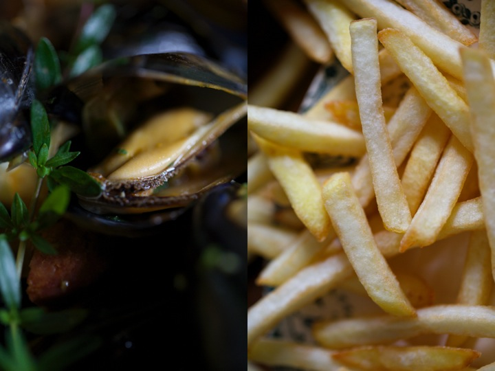 moules de bouchot - seafood - mussels